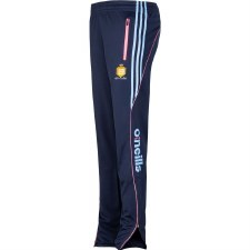 O'Neills Clare Lds Solar Skinny Squad Pants (Navy Pink Blue) Age 7-8