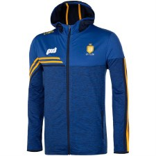 O'Neills Clare Nevis Brushed Full Zip Hoody (Melange Royal Royal Amber Navy) 5-6