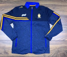 O'Neills Clare Nevis Brushed Full Zip Jacket (Melange Navy Navy Royal Amber) 9-10