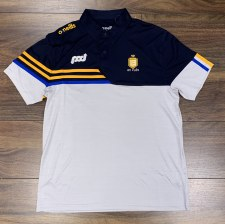 O'Neills Clare Nevis 3S Polo (Melange Grey Navy Amber Royal) 13-14