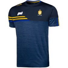 O'Neills Clare Nevis Tee Shirt (Navy Marl Navy Amber Royal) 9-10