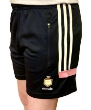 O'Neills Clare Raven Ladies Shorts (Navy Pink) Age 5-6