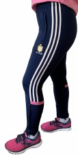 O'Neills Clare Raven Ladies Skinny Pants (Navy Angel Wing Pink) Age 5-6