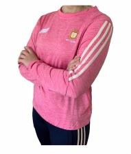O'Neills Clare Raven Ladies Sweat (Melange Pink Angel Wing) Age 5-6