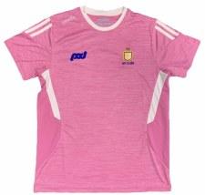 O'Neills Clare Raven Ladies T-Shirt (Melange Pink Angel Wing) Age 7-8