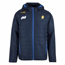 O'Neills Clare Solar F/Z Padded Fleece Jacket (Navy Royal Amber) Age 5-6
