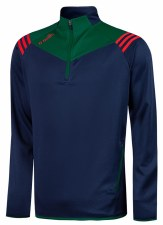 O'Neills Colorado Squad Half Zip (navy Bottle Red) 5-6