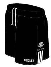 O'Neills Doonbeg GAA Shorts (Black White) 20