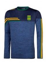 O'Neills Ennistymon Hurling Club Nevis Sweat (Melange Navy Bottle Amber) 5-6