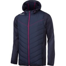 O'Neills Holland padded Jacket (Navy Maroon) Age 10-11