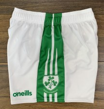 O'Neills Kilrush Shamrocks Gaelic Shorts (White Green) 28