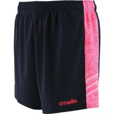 O'Neills Mourne Shorts (Navy Pink Print) 30