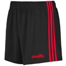 O'Neills Mourne Shorts (Black Red) 20