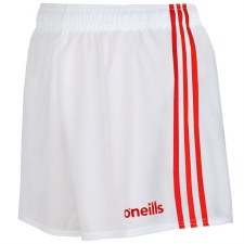 O'Neills Mourne Shorts (White Red) 22