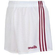 O'Neills Mourne Shorts (White Maroon) 24