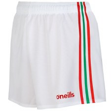 O'Neills Mourne Shorts (White Red Green) 26