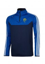 O'Neills Munster GAA Kasey Half Zip (Navy Royal White) 5-6