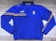 O'Neills Clare Nevis Squad Half Zip Top (Royal Amber Navy) 5-6