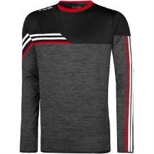 O'Neills Nevis Brushed Crew Neck (Melange Black Red White) 5-6