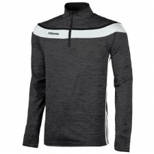 O Neills Slaney 3 Stripe Half Zip (Melange Black White) 7-8