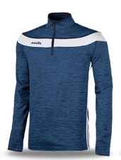 O'Neills Slaney 3 Stripe Half Zip (Melange Navy White) 7-8