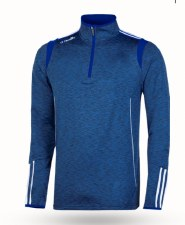 O'Neills Solar 3 Stripe Brushed  Half Zip (Melange Navy Royal White) 5-6
