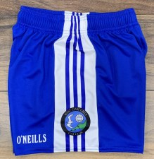 O'Neills West Clare Gaels Ladies Gaelic Shorts (Royal White) 9-10