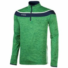 O'Neills Slaney 3 Stripe Half Zip (Melange Green Navy White) Medium