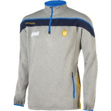 O'Neills Slaney Performance 1/2 Zip (Marl Grey Navy Royal Amber) Age 7-8