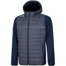 O'Neills Harrison Padded Hooded Jacket (Marl Navy Navy) 5-6