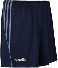 O Neills Solar Poly Shorts (Navy Marl Navy Stripes) 9-10