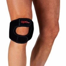 Opro Tec Knee Support Dual Strap (Black) Small - Medium