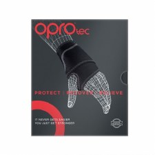 Opro Tec Wrist Support (Black Red) One Size