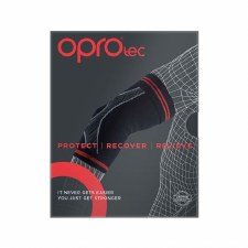 Opro Tec Elbow Sleeve (Black Red) Small