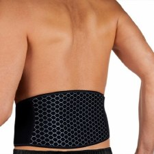 Opro Back Support (Black) One Size Fits All