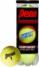Penn Championship Tennis Balls (Yellow) 3 Pack