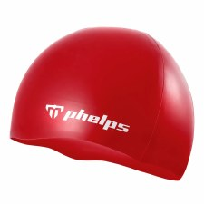 Phelps Classic Silicone Hat (Red)