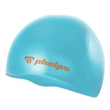 Phelps Classic Silicone Hat (Turquoise)