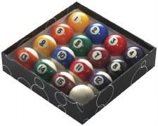 "PowerGlide Pool Balls (2 1/4"" - -57mm) Spots & Stripes"