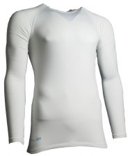 Precision Baselayer Top Junior (White) Medium Boys