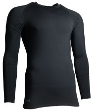 Precision Baselayer Top Junior (Black) Small Boys