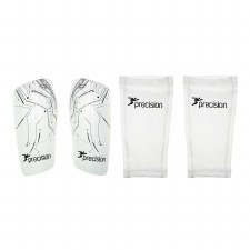 Precision Pro Matrix Shinguards (White) Small