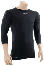 Precision Padded Goal Keeper Baselayer Top Adults (Black) Small