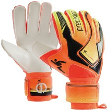 Precision Heatwave Goalkeeper Gloves (Orange Black) 8