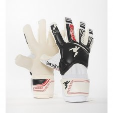 Precision Fusion Pro Gaelic Goalkeeper Gloves (White Black Red) 8