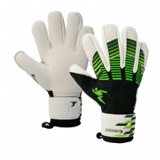 Precision Elite Giga Goalkeeper Gloves (White Black Green) 9.5