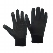 Precision Essential Warm Players Gloves (Black) Adult