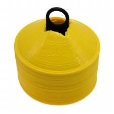 Precision Saucer Cones (Yellow) 50