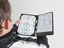 Precision Pro Soccer Coaches Tactic Folder (Black)