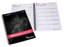 Precision A4 Soccer Match Day Planner